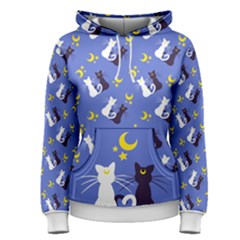 Moon Kitties Women s Pullover Hoodie
