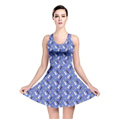 Moon Kitties Reversible Skater Dress