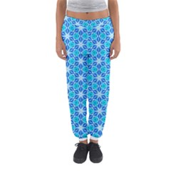 Aqua Hawaiian Stars Under A Night Sky Dance Women s Jogger Sweatpants