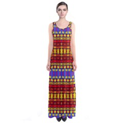 Egypt Full Print Maxi Dress