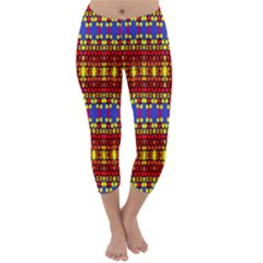 Egypt Capri Winter Leggings