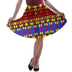 Egypt A Line Skater Skirt