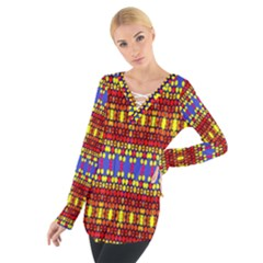 Egypt Women s Tie Up Tee