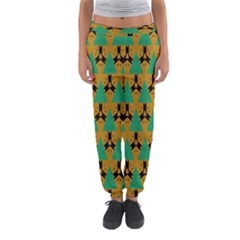 Triangles and other shapes pattern        Women s Jogger Sweatpants