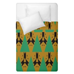 Triangles And Other Shapes Pattern         Duvet Cover (single Size)