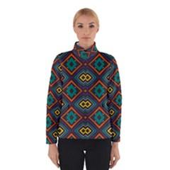 Rhombus pattern          Winter Jacket
