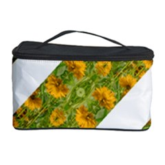 Indian Floral Pattern Stripes Cosmetic Storage Cases