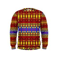 Hexagon Pilot Kids  Sweatshirt