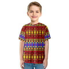 Hexagon Pilot Kid s Sport Mesh Tee