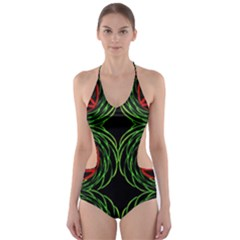 TRITON BASE Cut-Out One Piece Swimsuit