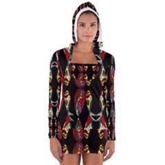 NEPTUNE GEIGHTS Women s Long Sleeve Hooded T-shirt