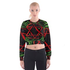 Universe Base Star Women s Cropped Sweatshirt