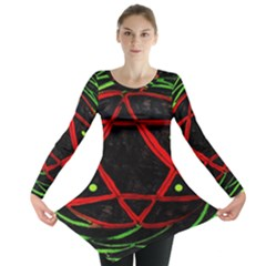 UNIVERSE BASE STAR Long Sleeve Tunic