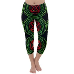 Venus Rotation Capri Winter Leggings