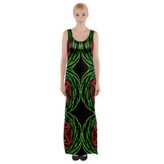 VENUS ROTATION Maxi Thigh Split Dress
