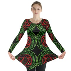 VENUS ROTATION Long Sleeve Tunic