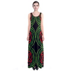 VENUS BUS Full Print Maxi Dress