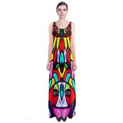 SUN STAR Full Print Maxi Dress