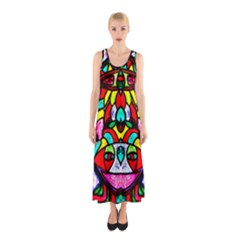 Bi Polar Sun Full Print Maxi Dress