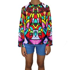 BI-POLAR SUN Kid s Long Sleeve Swimwear
