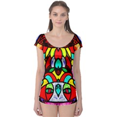 Bi Polar Sun Boyleg Leotard (ladies)