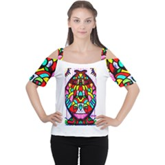 Bi Polar Sun Women s Cutout Shoulder Tee