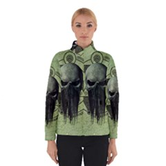 Awesome Green Skull Winterwear