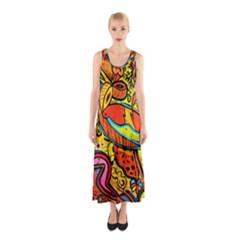Palace Of Art Full Print Maxi Dress