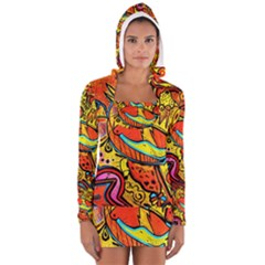 Palace Of Art Women s Long Sleeve Hooded T-shirt