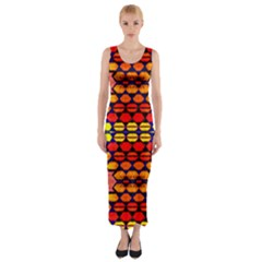Gate Way Fitted Maxi Dress