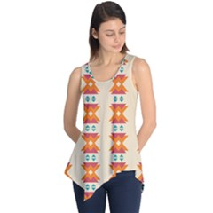 Triangles tribal pattern              Sleeveless Tunic