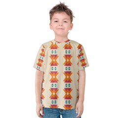 Triangles tribal pattern              Kid s Cotton Tee