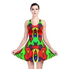 Heads Up Reversible Skater Dress