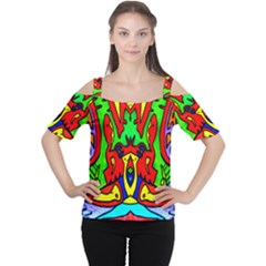 Heads Up Women s Cutout Shoulder Tee