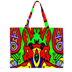 Heads Up Large Tote Bag