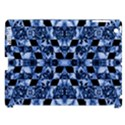 Indigo Check Ornate Print Apple iPad 3/4 Hardshell Case (Compatible with Smart Cover) View1