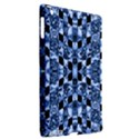 Indigo Check Ornate Print Apple iPad 3/4 Hardshell Case (Compatible with Smart Cover) View2
