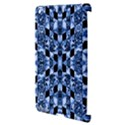 Indigo Check Ornate Print Apple iPad 3/4 Hardshell Case (Compatible with Smart Cover) View3