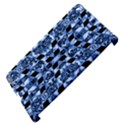Indigo Check Ornate Print Apple iPad 3/4 Hardshell Case (Compatible with Smart Cover) View4