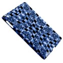 Indigo Check Ornate Print Apple iPad 3/4 Hardshell Case (Compatible with Smart Cover) View5