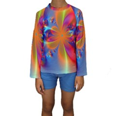 Bright Kid s Long Sleeve Swimwear