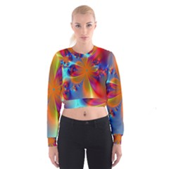 Bright Women s Cropped Sweatshirt