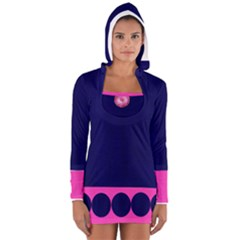 By Me Women s Long Sleeve Hooded T-shirt