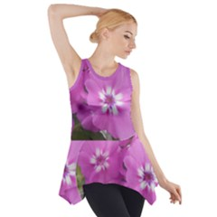 Elise s Blues Side Drop Tank Tunic