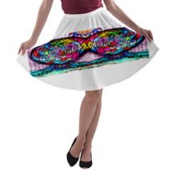 Bestiiik A Line Skater Skirt