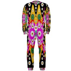 Flowers Above And Under The Peaceful Sky OnePiece Jumpsuit (Men)