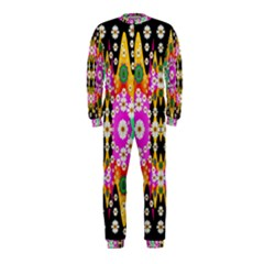 Flowers Above And Under The Peaceful Sky OnePiece Jumpsuit (Kids)