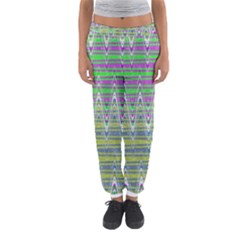 Colorful Zigzag Pattern Women s Jogger Sweatpants