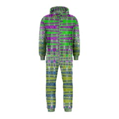 Colorful Zigzag Pattern Hooded Jumpsuit (kids)