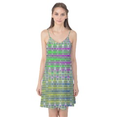 Colorful Zigzag Pattern Camis Nightgown